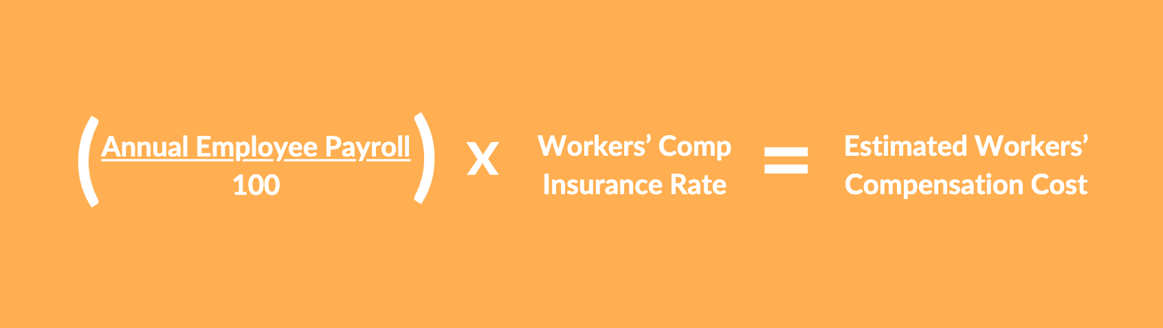 Workers comp cost per employee
