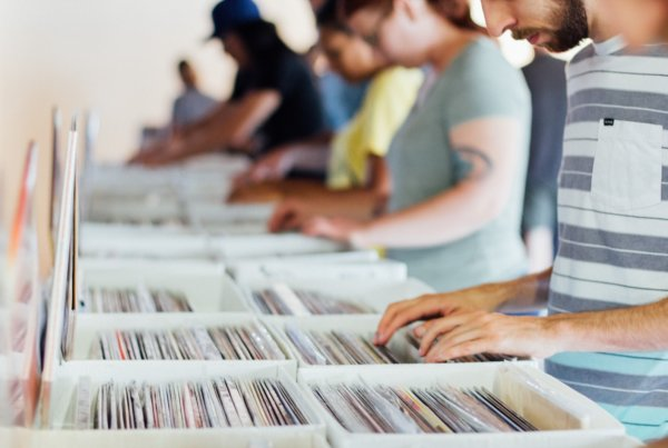 Small business record store