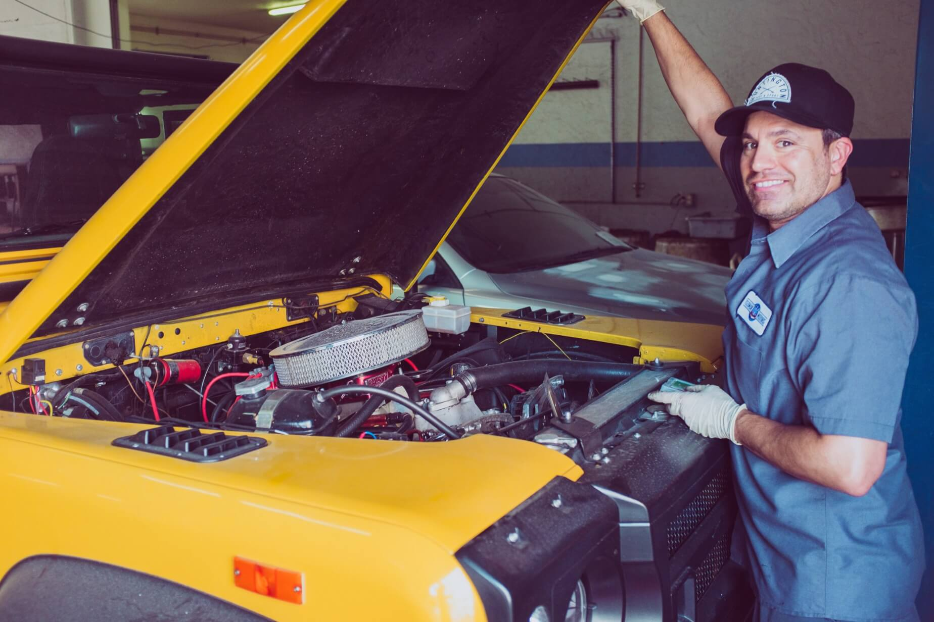 Workplace safety series: auto shops